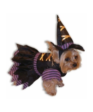 Doggie Witch Pet Costume
