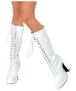 Easy White Boots - Adult Shoes