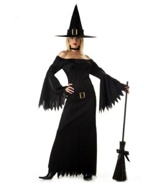 Elegant Witch Women Costume