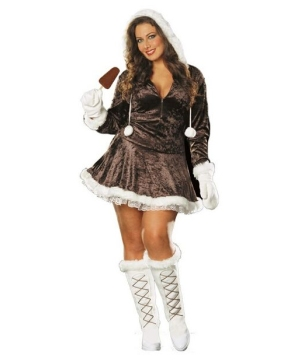 Eskimo Cutie Costume - Adult plus size Costume