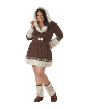 Eskimo Kisses Costume - plus size Costume