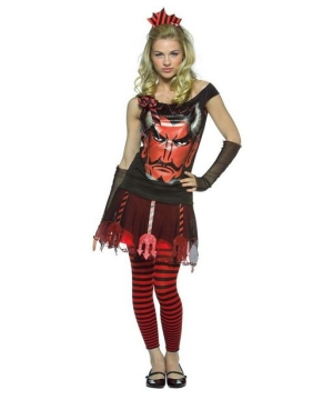 Faces Devil Teen Costume