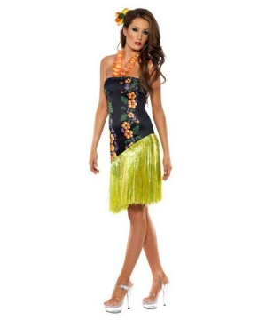 Fever Luscious Luau Costume - Adult Costume
