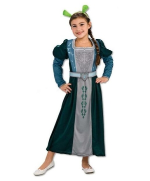 Princess Fiona Kids Costume