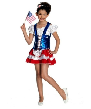 Fire Cracker Girls Costume