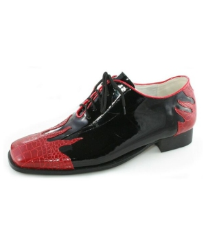Flame Black Shoes - Adult Shoes
