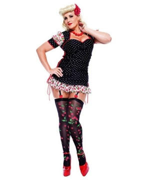Pinup Girl Adult plus size Costume