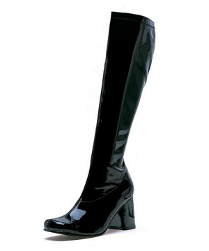 Go Go Black Boots - Adult Shoes