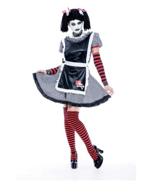 Gothic Rag Doll Women Costume