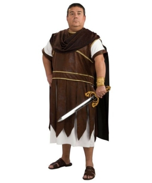 Greek Warrior Costume - Adult plus size Costume