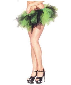Green and Black Adult Petticoat/tutu