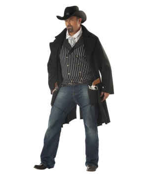 Gun Fighter Adult plus size Costume
