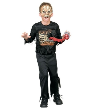Heartless Zombie Kids Costume