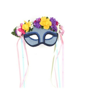Hippie Flower Kids Mask