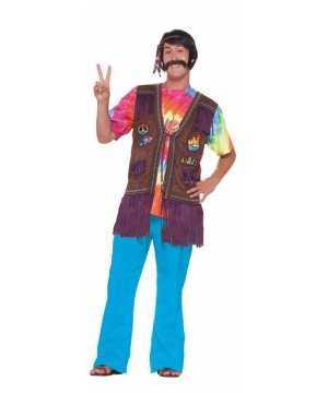 Hippie Peace Vest Adult Costume