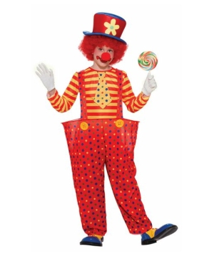Hoopy the Clown Boys Costume