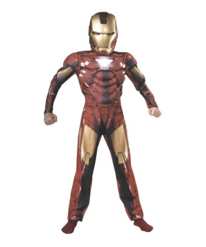 Iron Man 2 Muscle Kids Costume