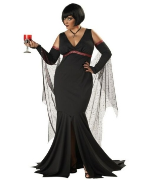 Immortal Seductress plus size Women Costume