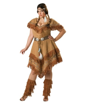 Indian Maiden Costume - Adult plus size Costume