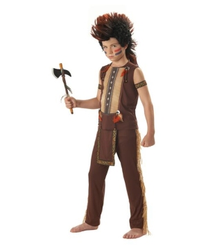 Indian Warrior Kids Costume