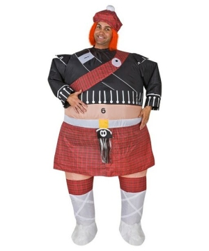 Inflatable Highlander Adult Costume