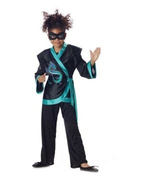 Jewel Dragon Ninja Kids Costume