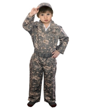 Jr. Camouflage Costume - Toddler Costume