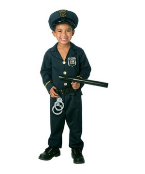 Jr Policeman Toddler Costume