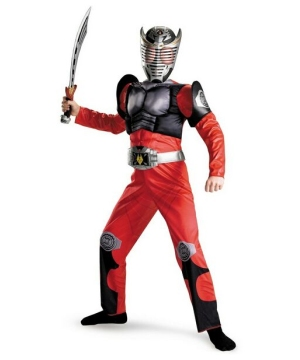 Kamen Rider Dragon Knight Muscle Kids Costume