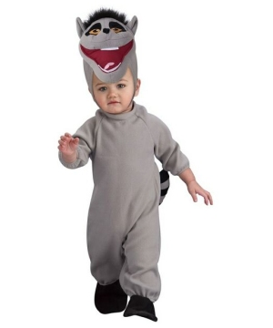 King Julien Costume - the Penguins of Madagascar - Baby Costume