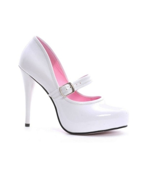 Lady Jane White Shoes - Adult Shoes