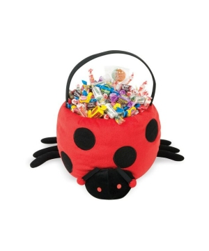 Ladybug Plush Halloween Treat Bag