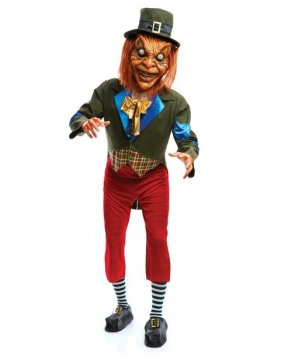 Scary Leprechaun Adult Costume