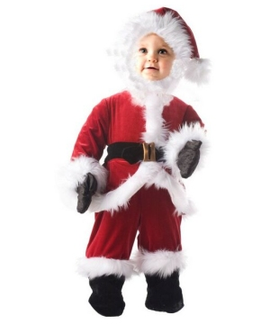 Little Santa Costume - Infant/toddler/Kids Costume
