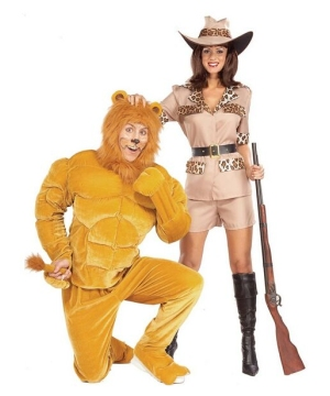 Macho Lion Costume - Adult Costume