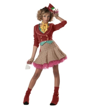 Little Miss Mad Hatter Teen Costume