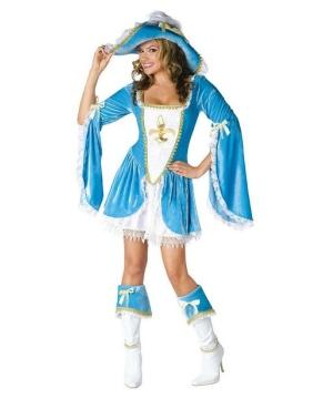 Madam Musketeer Women's Costume