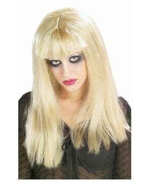 Malice in Horrorland Adult Wig