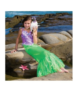 Ariel Mermaid Girls Costume