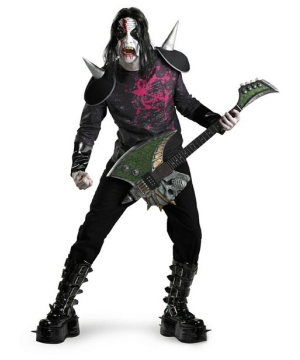 Metal Mayhem Men Costume