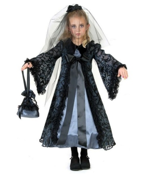 Midnight Bride Costume - Child Costume