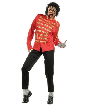 Michael Jackson Prince Red Men Costume