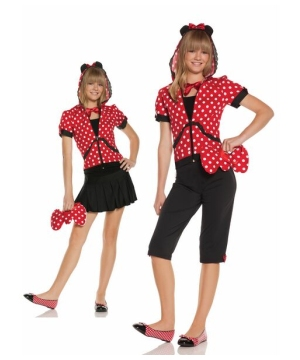 Miss Mouse Teen Costume