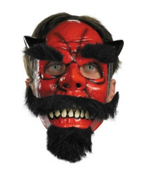 Moveable Devil Mask - Adult Mask