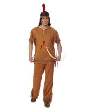 Native American Brave Indian Men Costume