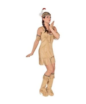 Native Princess Indian Women Costume