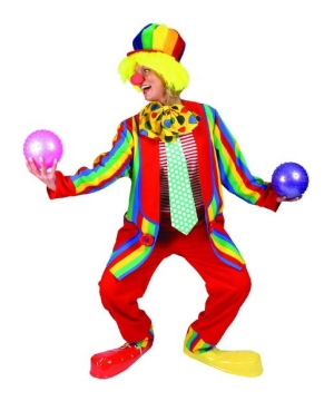 Paddy Whack Clown Costume - Adult Costume