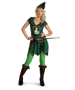 Sassy Peter Pan Costume - Adult Costume