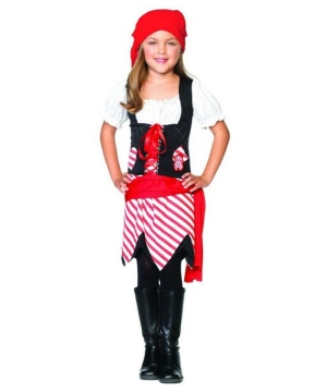 Petite Pirate Kids Costume