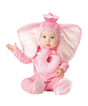 Pink Elephant Costume - Infant/toddler Costume